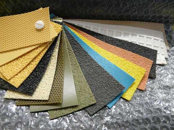 Roller Covering Swatches