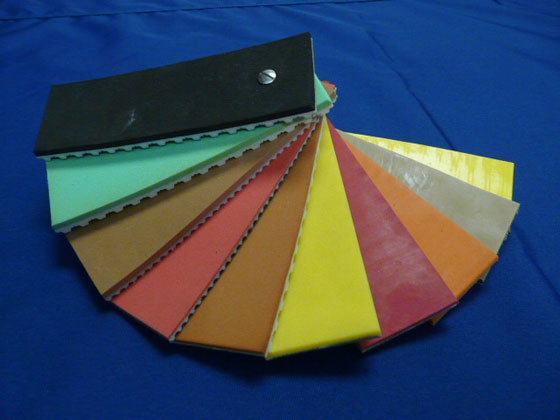Special Belt Colour Swatches